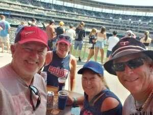 Pete's Game attended Minnesota Twins vs. Los Angeles Angels - MLB on Jul 25th 2021 via VetTix