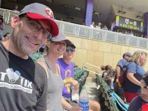 CHAD M. attended Minnesota Twins vs. Los Angeles Angels - MLB on Jul 25th 2021 via VetTix