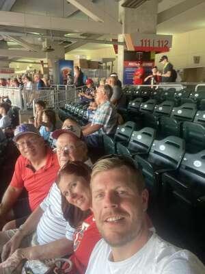 Mike Reindl  attended Minnesota Twins vs. Los Angeles Angels - MLB on Jul 25th 2021 via VetTix
