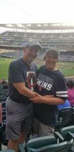 Retired Army attended Minnesota Twins vs. Detroit Tigers - MLB on Jul 26th 2021 via VetTix