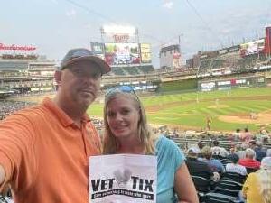 Bob Ellington attended Minnesota Twins vs. Detroit Tigers - MLB on Jul 26th 2021 via VetTix