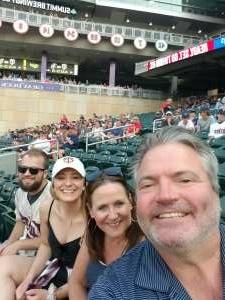 Joe attended Minnesota Twins vs. Detroit Tigers - MLB on Jul 26th 2021 via VetTix