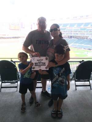 Jerry attended Minnesota Twins vs. Detroit Tigers - MLB on Jul 26th 2021 via VetTix