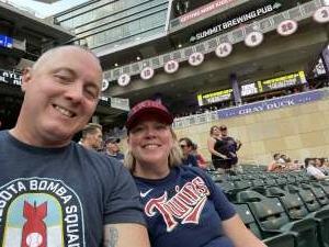 Donnie attended Minnesota Twins vs. Detroit Tigers - MLB on Jul 27th 2021 via VetTix