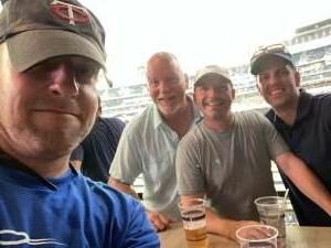 John attended Minnesota Twins vs. Detroit Tigers - MLB on Jul 27th 2021 via VetTix