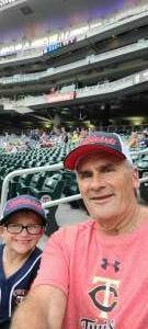 Zed attended Minnesota Twins vs. Detroit Tigers - MLB on Jul 27th 2021 via VetTix