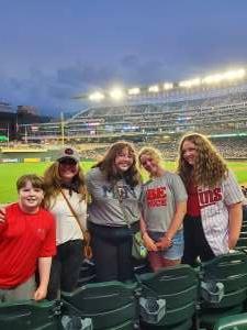 Alan attended Minnesota Twins vs. Detroit Tigers - MLB on Jul 27th 2021 via VetTix