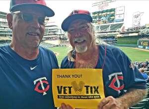 Dave attended Minnesota Twins vs. Detroit Tigers - MLB on Jul 28th 2021 via VetTix