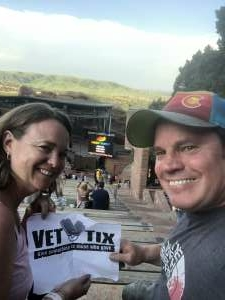 Thank you for a fun night out! attended Big Head Todd and the Monsters on Jun 13th 2021 via VetTix