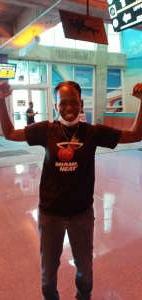 Debra attended Miami Heat vs. Milwaukee Bucks - Military Appreciation Night - NBA Playoffs - Round 1 - Home Game 2 on May 29th 2021 via VetTix