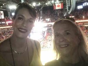 Celeste attended Miami Heat vs. Milwaukee Bucks - Military Appreciation Night - NBA Playoffs - Round 1 - Home Game 2 on May 29th 2021 via VetTix