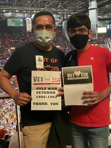 Click To Read More Feedback from Miami Heat vs. Milwaukee Bucks - Military Appreciation Night - NBA Playoffs - Round 1 - Home Game 2