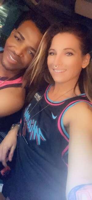 Sally Adams attended Miami Heat vs. Milwaukee Bucks - Military Appreciation Night - NBA Playoffs - Round 1 - Home Game 2 on May 29th 2021 via VetTix