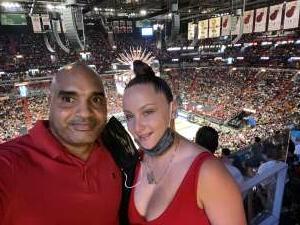 Lynroy Williams attended Miami Heat vs. Milwaukee Bucks - Military Appreciation Night - NBA Playoffs - Round 1 - Home Game 2 on May 29th 2021 via VetTix