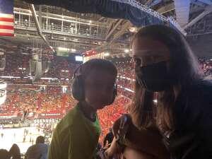 Hope  attended Miami Heat vs. Milwaukee Bucks - Military Appreciation Night - NBA Playoffs - Round 1 - Home Game 2 on May 29th 2021 via VetTix