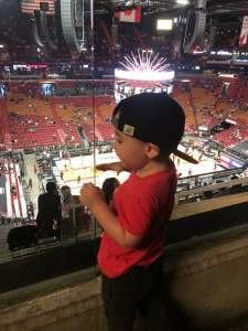 Alex attended Miami Heat vs. Milwaukee Bucks - Military Appreciation Night - NBA Playoffs - Round 1 - Home Game 2 on May 29th 2021 via VetTix