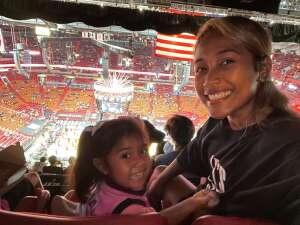 Mame attended Miami Heat vs. Milwaukee Bucks - Military Appreciation Night - NBA Playoffs - Round 1 - Home Game 2 on May 29th 2021 via VetTix
