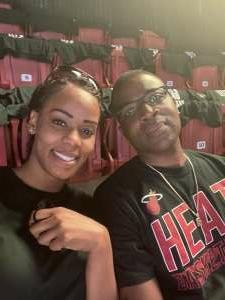 1SG G  attended Miami Heat vs. Milwaukee Bucks - Military Appreciation Night - NBA Playoffs - Round 1 - Home Game 2 on May 29th 2021 via VetTix