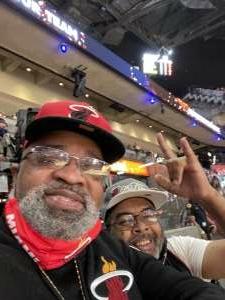 Elijah Williams attended Miami Heat vs. Milwaukee Bucks - Military Appreciation Night - NBA Playoffs - Round 1 - Home Game 2 on May 29th 2021 via VetTix