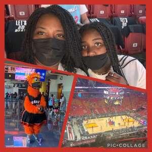 Ricks Family  attended Miami Heat vs. Milwaukee Bucks - Military Appreciation Night - NBA Playoffs - Round 1 - Home Game 2 on May 29th 2021 via VetTix