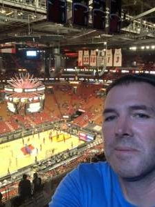 Kyle attended Miami Heat vs. Milwaukee Bucks - Military Appreciation Night - NBA Playoffs - Round 1 - Home Game 2 on May 29th 2021 via VetTix