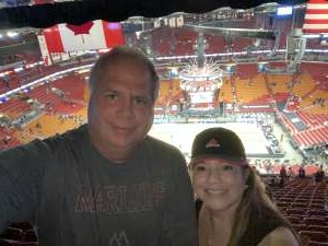 Robert attended Miami Heat vs. Milwaukee Bucks - Military Appreciation Night - NBA Playoffs - Round 1 - Home Game 2 on May 29th 2021 via VetTix