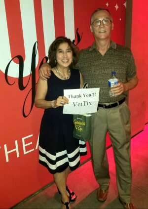 Kevin and Leisla attended Becoming Dr. Ruth on Jun 3rd 2021 via VetTix