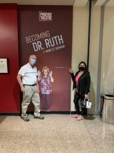 Janice attended Becoming Dr. Ruth on Jun 3rd 2021 via VetTix