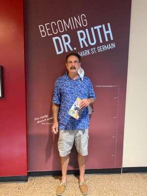 Bill Bondy attended Becoming Dr. Ruth on Jun 3rd 2021 via VetTix