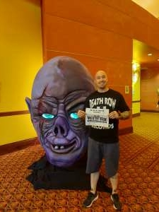 TJ attended Arizona Horror Convention - Mad Monster Party on Jul 2nd 2021 via VetTix