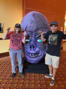 Rob attended Arizona Horror Convention - Mad Monster Party on Jul 2nd 2021 via VetTix