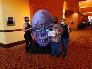 M.Hernandez attended Arizona Horror Convention - Mad Monster Party on Jul 2nd 2021 via VetTix