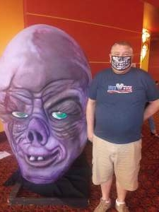 Eddie attended Arizona Horror Convention - Mad Monster Party on Jul 2nd 2021 via VetTix
