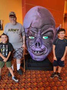 Louis Matamoros attended Arizona Horror Convention - Mad Monster Party on Jul 3rd 2021 via VetTix