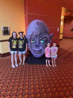 Derek attended Arizona Horror Convention - Mad Monster Party on Jul 3rd 2021 via VetTix