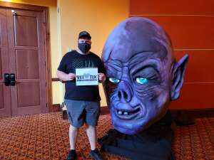 Taylor G attended Arizona Horror Convention - Mad Monster Party on Jul 3rd 2021 via VetTix