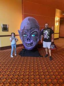 Noe attended Arizona Horror Convention - Mad Monster Party on Jul 3rd 2021 via VetTix