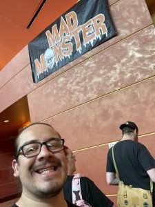 Mauricio attended Arizona Horror Convention - Mad Monster Party on Jul 3rd 2021 via VetTix