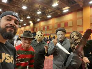 David Basaldua attended Arizona Horror Convention - Mad Monster Party on Jul 3rd 2021 via VetTix