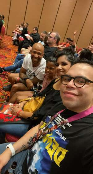 The Youngs attended Arizona Horror Convention - Mad Monster Party on Jul 3rd 2021 via VetTix