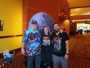 Ed attended Arizona Horror Convention - Mad Monster Party on Jul 4th 2021 via VetTix