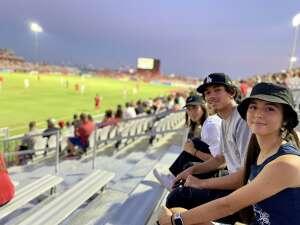 J. F. attended Phoenix Rising vs. San Diego Loyal SC - USL on Jun 5th 2021 via VetTix