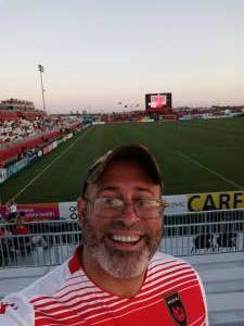 Carlos attended Phoenix Rising vs. San Diego Loyal SC - USL on Jun 5th 2021 via VetTix