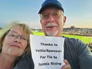 Ron attended Phoenix Rising vs. San Diego Loyal SC - USL on Jun 5th 2021 via VetTix