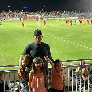 Kent E attended Phoenix Rising vs. San Diego Loyal SC - USL on Jun 5th 2021 via VetTix