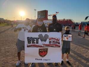 E. Smitty attended Phoenix Rising vs. San Diego Loyal SC - USL on Jun 5th 2021 via VetTix
