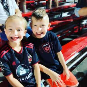 Yunck Family  attended Phoenix Rising vs. San Diego Loyal SC - USL on Jun 5th 2021 via VetTix