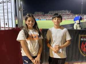 Alex attended Phoenix Rising vs. San Diego Loyal SC - USL on Jun 5th 2021 via VetTix