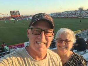 David attended Phoenix Rising vs. San Diego Loyal SC - USL on Jun 5th 2021 via VetTix
