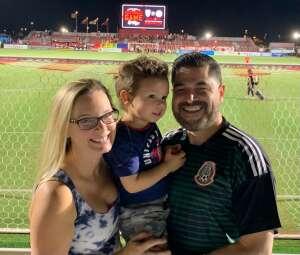 Juan  attended Phoenix Rising vs. San Diego Loyal SC - USL on Jun 5th 2021 via VetTix